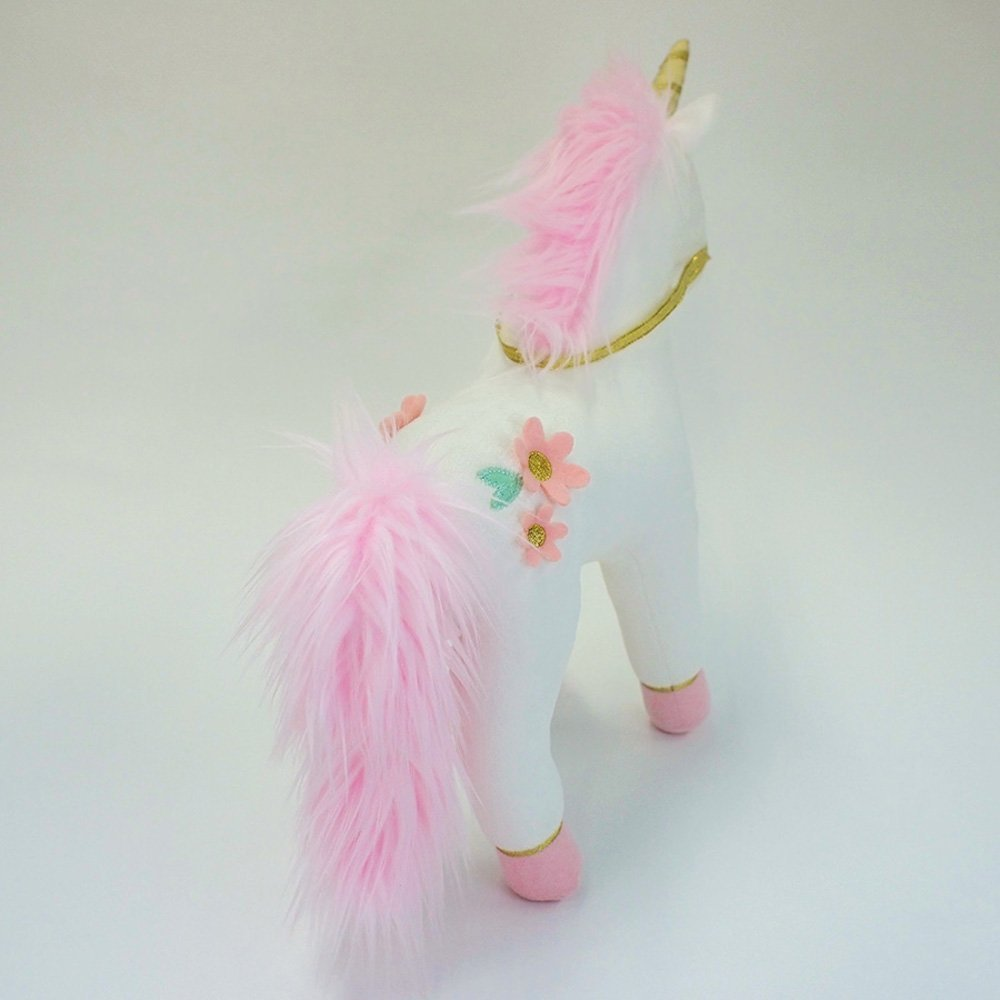 Image 3 of Gund Lilyrose Pink Unicorn Plush, 13