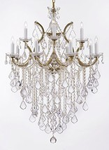 "Maria Theresa Chandelier Lights Fixture Pendant Ceiling Lamp Dressed HT 40"" WD 2 - $488.04"