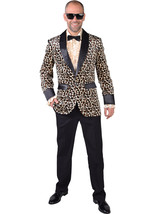 Teddy Boy / Rockabilly / Showman JACKET - Leopard Print , XS - XXL - $51.48+