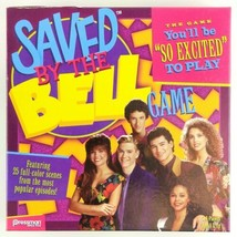 Saved By The Bell Board Game Zack Kelly Slater Screech TV Party Pressman 2017 - £11.62 GBP