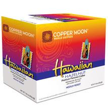 Copper Moon Hawaiian Hazelnut Coffee 20 to 80 Keurig K cups Pick Any Size  - $15.99+