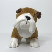 "Webkinz Bulldog HM126 Plush Stuffed Animal Beanie 9"" Long No Code - $14.73"