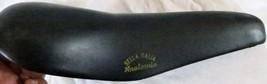 Italia Bike Seat/Saddle Black Vintage Narrow Light Padding - $39.65