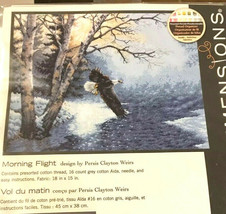 "Dimensions MORNING FLIGHT Counted Cross Stitch 70-35267 14""x11"" Sealed L... - $37.21"