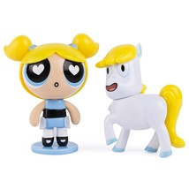 Powerpuff Girls Action Dolls 2-pack Bubbles & Donny Unicorn - $9.00
