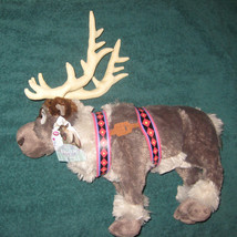 Disney Store Frozen Sven Reindeer 16 inch Plush Animal Doll. Brand New. - $31.00