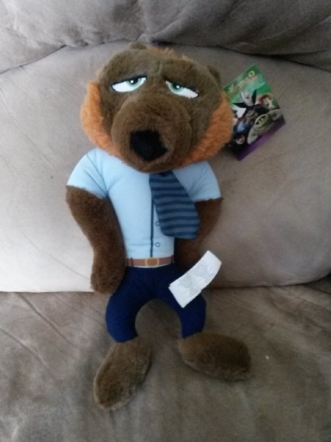 "Primary image for HOTEL TRANSYLVANIA 2 WEREWOLF WAYNE Brand New Licensed Plush NWT 14"" Kelly Toy"