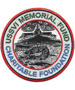 US Navy Submarine USSVI Memorial Fund Base Military Patch CHARITABLE FOU... - $11.87