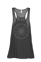 Thread Tank Zodiac Constellation Women's Sleeveless Flowy Racerback Tank Top Cha - $24.99+