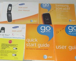 Vintage 2010 Samsung Flip Phone Go New Users Manuels English and Spanish - $16.82