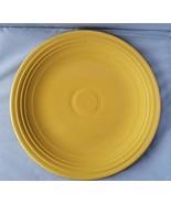 Fiesta Ware Fiestaware Yellow Round Serving Platter Cake Charger Chop Pl... - $40.54