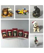 Lot of 5 Vintage Hallmark Keepsake Christmas Ornaments 1999 VTG - $24.74
