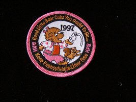 Good Little Bear Club Patch  Pennsylvania Litter Free Premium 1997 Beren... - $12.99