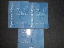 2010 Ford Ecke Lincoln MKX Service Shop Reparatur Werkstatt Manuell Set ... - $67.27