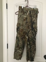RealTree Boy's Hunting Cargo Casual Pants Sz 10/12 L MultiColor Bottoms - $18.90