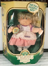 Vintage Talking 1987 Talking Cabbage Patch Kid with Cup Certificate Instructions - $198.00