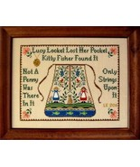 Lucy Locket Sampler cross stitch chart The Need... - $8.10