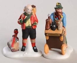 Cobbler & Clock Peddler Dept 56 Heritage Village 58394 Christmas accesso... - $13.10