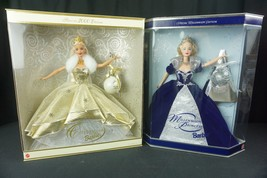 Celebration Barbie 2000 and Millennium Princess Barbie 2000 Speical Edit... - $49.45
