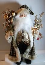 Fabulous Chic Santa Claus in Gold - $30.00