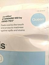 Queen Cooling Waterproof Cool Touch Mattress Pad Room Essentials  STORE -NEW! image 4