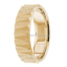 10K SOLID GOLD MENS WOMENS WEDDING BANDS RINGS WOMANS MANS WEDDING RING ... - $359.98