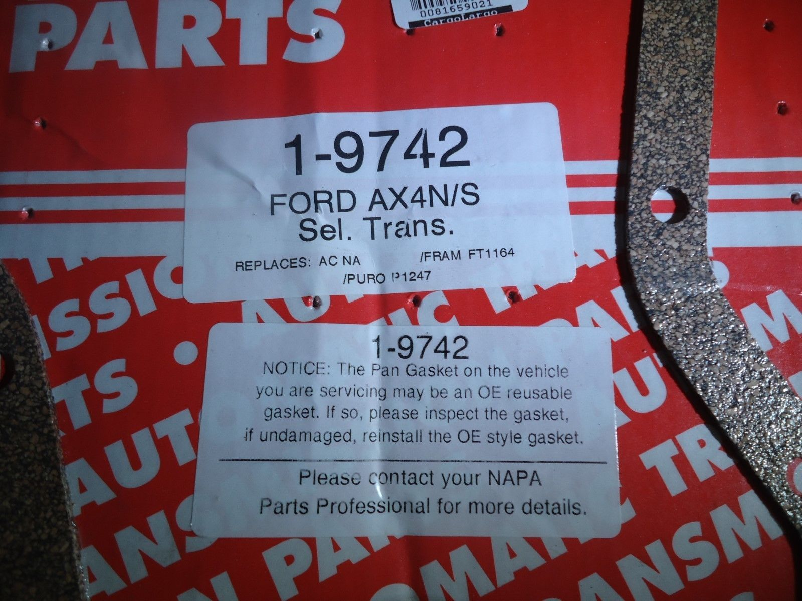 Auto Trans Filter Kit Napa 19742 Ford Ax4n S And 50 Similar Items Wiring Harness Sel