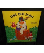 VINTAGE 1974 THIS OLD MAN CHILD'S PLAY PAM ADAMS KIDS STORY PAPERBACK BOOK - $5.63