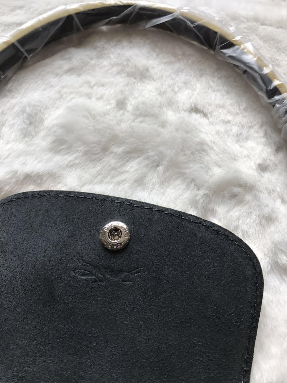 Longchamp Club Le Pliage Bag Gray Metal Large L1899619300