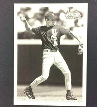 Chase Utley 2001 Bowman Heritage Rookie Card SP #304 Philadelphia Phillies - $9.85