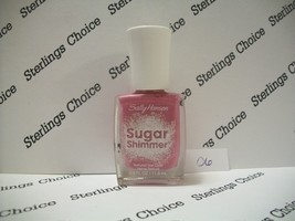 Sally Hansen Sugar Shimmer Textured Nail Color Polish #06 Berried Under - $5.82