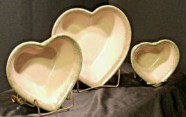 Stoneware Heart Shaped Serving Bowls AA-192037 (3 pieces) image 3