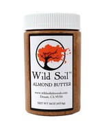 Wild Soil Almond Butter, Distinct and Superior to Organic, Probiotic, Un... - $14.59