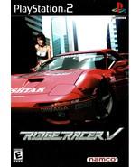 Ridge Racer V (5), PlayStation 2, Bandai Namco, SLUS-20002, Complete wit... - $19.99