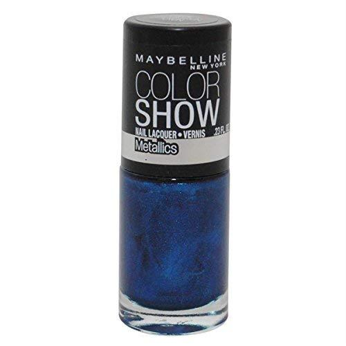 Maybelline Color Show Limited Edition Nail Polish, 100 Navy Narcissist (2 Pack)