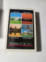 Washington D.C. Souvenir Made in British Hong Kong Deck of Playing Cards   (#18) image 2