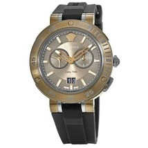 Versace VCN030017 V-Extreme Brown Dial Rubber Strap Men's Watch - $1,564.72