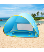 Nequare Baby Beach Tent Pop Up Tent Baby Beach Pool Sun Shelter Uv Prote... - $37.61