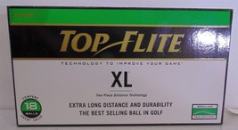 Spalding Top-Flite XL Regular Trajectory Golf Balls Case of 18 New in Box - $12.25