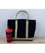 Victorias Secret Tote / Beach Bag & Water Bottle PINK Logo - $19.59