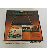 vintage sears best photo treasure chest picture album storage box plasti... - $19.75
