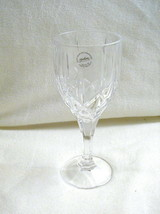 New Gorham Crystal Lady Anne Signature Goblet 8 Inches Tall Holds 11 Ounces - $21.77