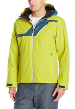 Spyder Men's Enforcer Jacket, Size XL, Sulfur/Union Blue/Cirrus - $178.19