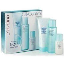 SHISEIDO Pureness Skin 123 Oil-Control Matifiant 3 Piece Set RARE & DISC... - $99.00