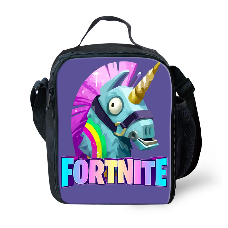 Fortnite Fort Nite Fortnight Game Lunchbox Bag Lunch Box Battle Royale Unicorn