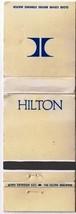 Advertising Matchbook Hilton Hotels and Inns Diamond Match - $1.89
