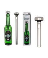 Stainless Steel Beer / Wine Cooler Ice Chiller Rod Stick - £6.51 GBP