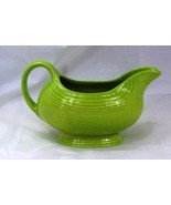 Homer Laughlin 1999 Fiesta Charteuse Gravy Boat - $25.19