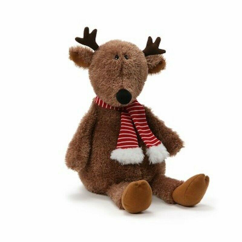 "Brand New My First Christmas Gund Reindeer  14"" Soft Plush 4061608"