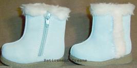 GYMBOREE Snow Boots NEW sz 01 HIDE N SEEK Blue 3m 6m crib shoes Infant G... - $17.00